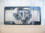 TEXAS A&M STATE TAG