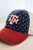 CAP/A&M W/RED-WHITE-BLUE