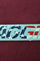 STICKER/AGGIE FLAG STYLE