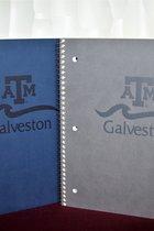 NOTEBOOK/A&M W/GALVESTON/ASST. COLORS
