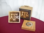 COASTER SET/WOOD A&M