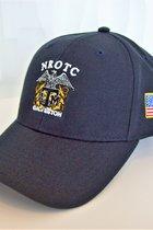 CORPS/CAP/BLUE NROTC W/FLAG