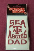 STICKER/SEA AGGIE DAD