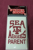 STICKER/SEA AGGIE PARENT